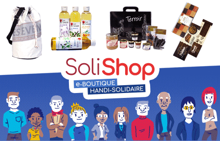 SoliShop.fr - e-boutique handi-solidaire